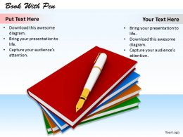 0514 Write Good Books Image Graphics For Powerpoint
