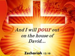 0514 Zechariah 1210 I Will Pour Out Powerpoint Church Sermon
