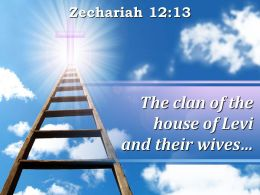 0514 Zechariah 1213 The Clan Of The House Powerpoint Church Sermon