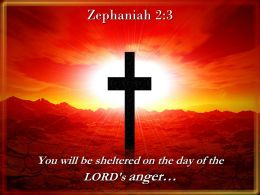 0514 Zephaniah 23 You Will Be Sheltered Powerpoint Church Sermon