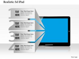 0614 3d Graphic Of Laptop Powerpoint Template Slide