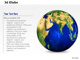 0614 3d Illustration Of Earth Globe Image Graphics For Powerpoint