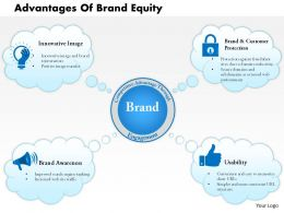 0614 Advantages Of Brand Equity Powerpoint Presentation Slide Template