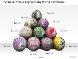 0614 Balls Of World Currencies Image Graphics For PowerPoint