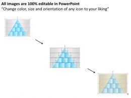 42281325 Style Layered Pyramid 10 Piece Powerpoint Presentation Diagram Infographic Slide
