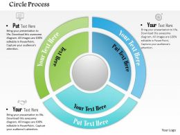 0614 Business Consulting Diagram Circle Of Business Steps Powerpoint Slide Template