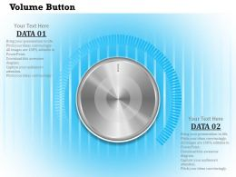 0614 Business Consulting Diagram Design Of Volume Button Powerpoint Slide Template