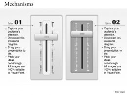 0614 Business Consulting Diagram Volume Up Down Buttons Powerpoint Slide Template