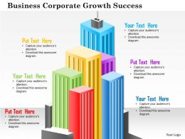 0614 Business Corporate Growth Success Powerpoint Presentation Slide Template