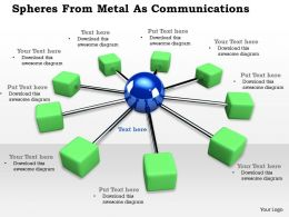 0614 Business Networks And Communication Image Graphics for PowerPoint