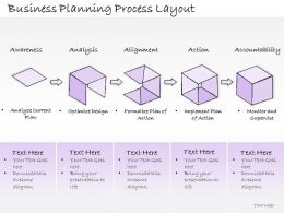 0614 Business Ppt Diagram Business Planning Process Layout Powerpoint Template