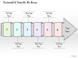 0614_business_ppt_diagram_horizontal_6_steps_on_an_arrow_powerpoint_template_Slide01