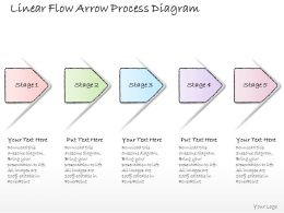 0614_business_ppt_diagram_linear_flow_arrow_process_diagram_powerpoint_template_Slide01