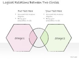0614_business_ppt_diagram_logical_relations_between_two_circles_powerpoint_template_Slide01