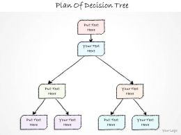 0614 Business Ppt Diagram Plan Of Decision Tree Powerpoint Template