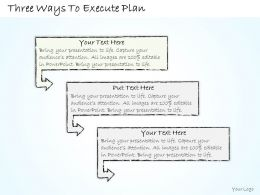 0614_business_ppt_diagram_three_ways_to_execute_plan_powerpoint_template_Slide02