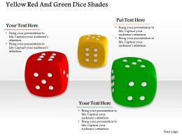 0614 Colorful Dices Game Illustration Image Graphics for PowerPoint