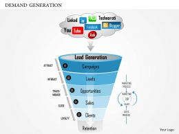 25999247 Style Layered Funnel 5 Piece Powerpoint Presentation Diagram Template Slide