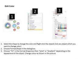 63669961 Style Variety 1 Gears 5 Piece Powerpoint Presentation Diagram Infographic Slide