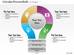 0614_four_staged_circular_financial_process_diagram_powerpoint_template_slide_Slide01
