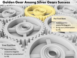 0614_golden_gear_in_silver_gears_image_graphics_for_powerpoint_Slide01