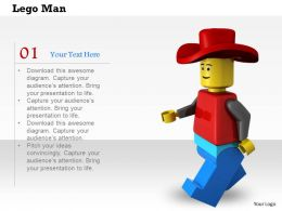 0614 Illustration Of Lego Man Image Graphics for PowerPoint