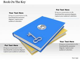 0614 Key To Open Books Image Graphics for PowerPoint
