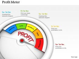 0614 Maximum Level Of Profit Image Graphics for PowerPoint