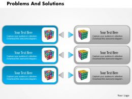 0614 Problems And Solutions Ask Before Making Powerpoint Presentation Slide Template