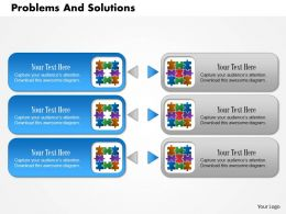 0614 Problems And Solutions Powerpoint Presentation Slide Template