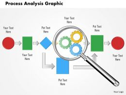 0614 Process Analysis Graphic Powerpoint Presentation Slide Template