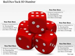 0614 Roll Dices to Get Number Six Image Graphics for PowerPoint