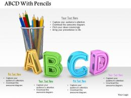 0614 Theme Of ABC Learning Image Graphics for PowerPoint