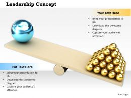 0614 Theme Of Leadership Concept Image Graphics for PowerPoint