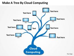 0620 Business Diagrams Examples Tree By Cloud Computing Powerpoint Templates PPT Backgrounds For Slides