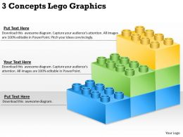 0620 Business Management Consulting 3 Concepts Lego Graphics Powerpoint Slides