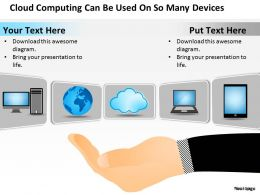 0620 Business Powerpoint Presentations So Many Devices Templates PPT Backgrounds For Slides
