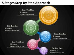 0620 Business Strategy 5 Stages Step By Approach Powerpoint Templates PPT Backgrounds For Slides