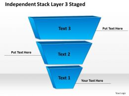 0620 Business Strategy Consultant Stack Layer 3 Staged Powerpoint Templates PPT Backgrounds For Slides
