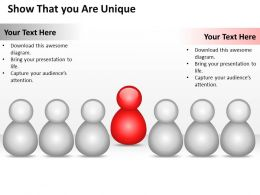 0620 Business Strategy Consultant That You Are Unique Powerpoint Templates PPT Backgrounds For Slides