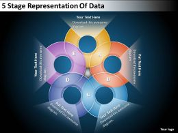 0620 Change Management Consulting 5 Stage Representation Of Data Powerpoint Templates PPT Backgrounds For Slides