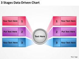 0620 Management Consultant Business 3 Stages Data Driven Chart Powerpoint Templates