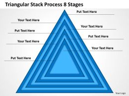 0620 Management Consultants Stack Process 8 Stages Powerpoint Templates PPT Backgrounds For Slides