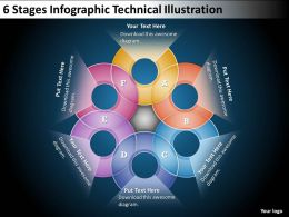 0620 Management Consulting Companies 6 Stages Info graphic Technical Illustration PPT Backgrounds For Slides