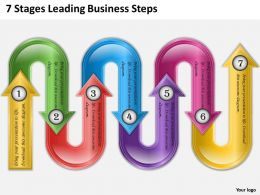 0620 Marketing Plan 7 Stages Leading Business Steps Powerpoint Templates PPT Backgrounds For Slides