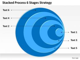 0620 Marketing Plan Stacked Process 6 Stages Strategy Powerpoint Templates PPT Backgrounds For Slides