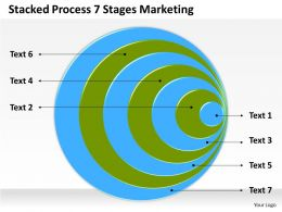 0620 Marketing Plan Stacked Process 7 Stages Powerpoint Templates PPT Backgrounds For Slides