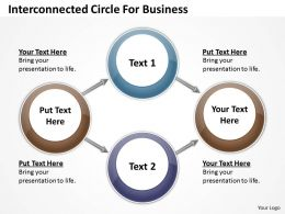 0620 Powerpoint Chart Templates Circle For Business PPT Backgrounds Slides
