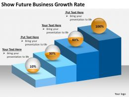 0620 Powerpoint Diagrams Templates Business Growth Rate PPT Backgrounds For Slides
