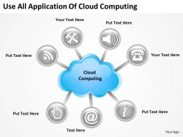 0620 Powerpoint Diagrams Templates Of Cloud Computing PPT Backgrounds For Slides